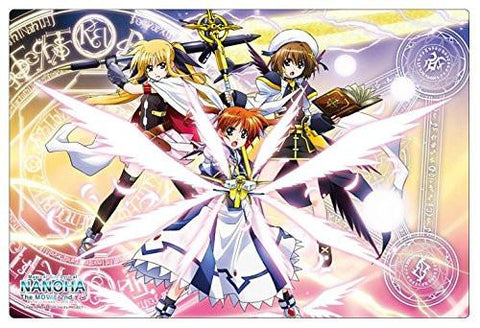 Magical Girl Lyrical Nanoha Fate Hayate - Rubber Play Mat Vol.24