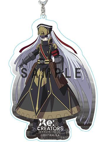 Re:Creators Altair Military Uniform Princess Character Deca Acrylic Key Chain Mascot