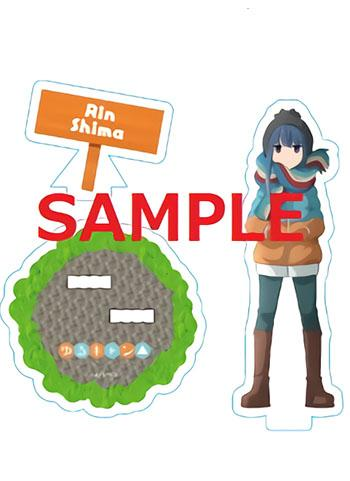 Yuru Camp Rin Shima Exclusive Character Acrylic Stand