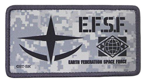 Mobile Suit Gundam - E.F.S.F. - Cospa Removable Velcro Patch Wappen