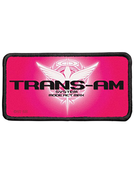Mobile Suit Gundam - Trans-am - Cospa Removable Velcro Patch Wappen