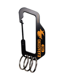 Haikyu!! COSPA Carabiner Key Chain - Karasuno High School vs Shiratorizawa Academy Volleyball Club
