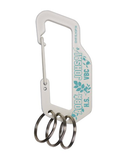 Haikyu!! COSPA Carabiner Key Chain - Karasuno vs Shiratorizawa Aoba Johsai Volleyball Club