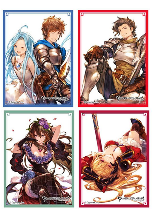 Granblue Fantasy Character Sleeves Set 4 Packs A