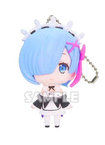 Re: Zero Rem Capsule Mascot Swing Key Chain