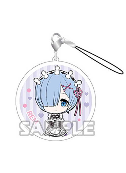 Re: Zero - Rem Sleep on My Lap - Acrylic Strap