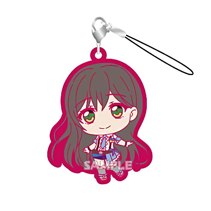 BanG Dream! Poppin'Party Tae Hanazono Capsule Rubber Mascot Strap