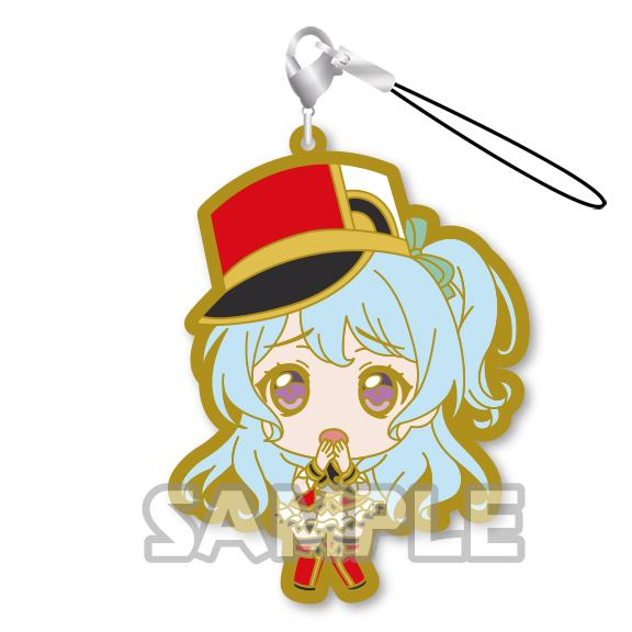 Bang Dream! Hello, Happy World! HaroHapi Bandori Capsule Rubber Mascot Strap