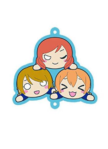 Love Live! Muse Maki Rin Hanayo Collab Cafe Character Rubber Strap