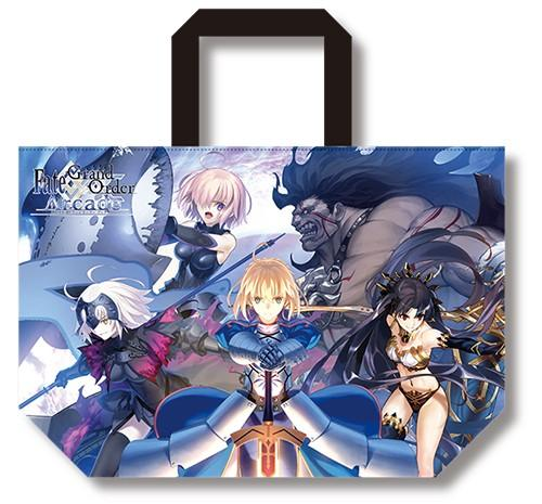 Fate Grand Order FGO Arcade Key Visual/Main Visual - Character Reversible Tote Bag