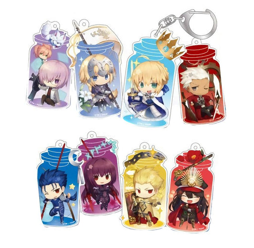 Fate Grand Order Lawson Limited FGO Charatoria Character Acrylic Key Chain Mascot