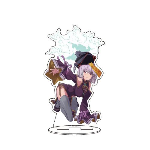 Gridman Halloween Original Illustration - Akane - Character BIG Acrylic Stand