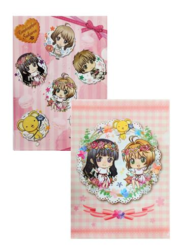 Cardcaptor Sakura Collab Flower Garden Cafe Character Clear File