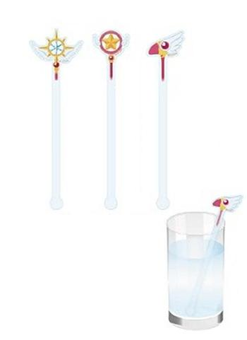 Cardcaptor Sakura Sealing Wand Collab Flower Garden Cafe Exclusive Character Drink Stirrer