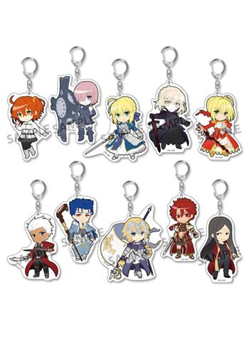 Fate Grand Order Pikuriru Acrylic Mascot Key Chain Vol.1