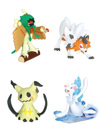Pokemon Sun & Moon Style Figure Candy Toy Vol.2  **Set of 4**