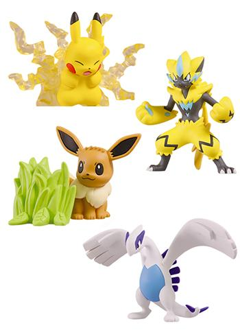 Pokemon I Choose You Movie 21 Capsule Art Mini Figure