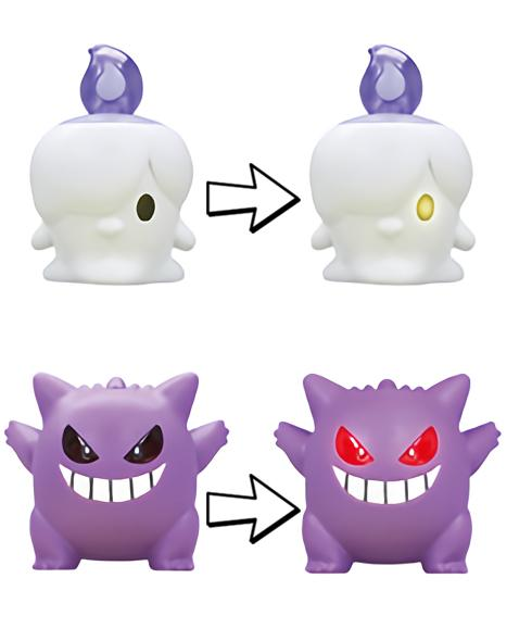 Pokemon Light-Up Ghost Character Capsule Toy Mini Figure