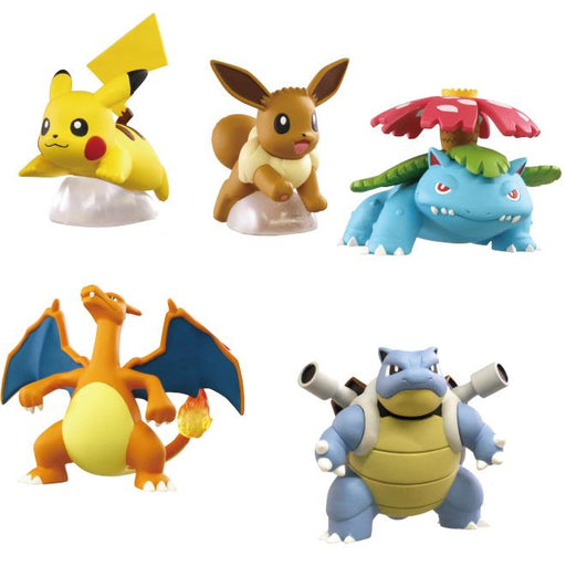 Pokemon Kanto Region Ippai Character Collection Capsule Toy Figure