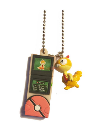 Pokemon - Scraggy - Pokedex Ball-Chain W-Mascot Key Chain