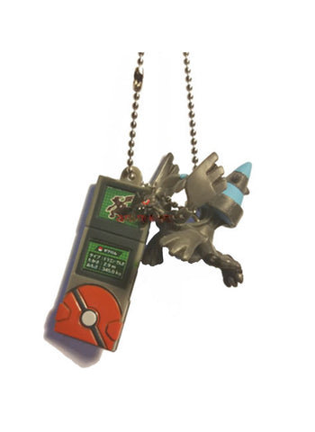 Pokemon - Zekrom - Pokedex Ball-Chain W-Mascot Key Chain