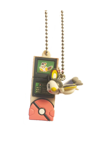 Pokemon - Emolga - Pokedex Ball-Chain W-Mascot Key Chain