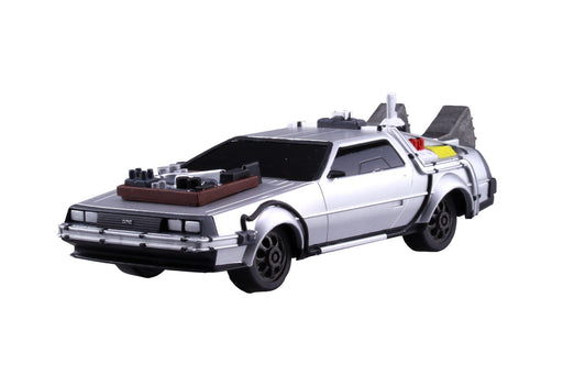 Back To The Future Part III - Pullback Delorean - Vehicle Model Kit 1/43 Scale
