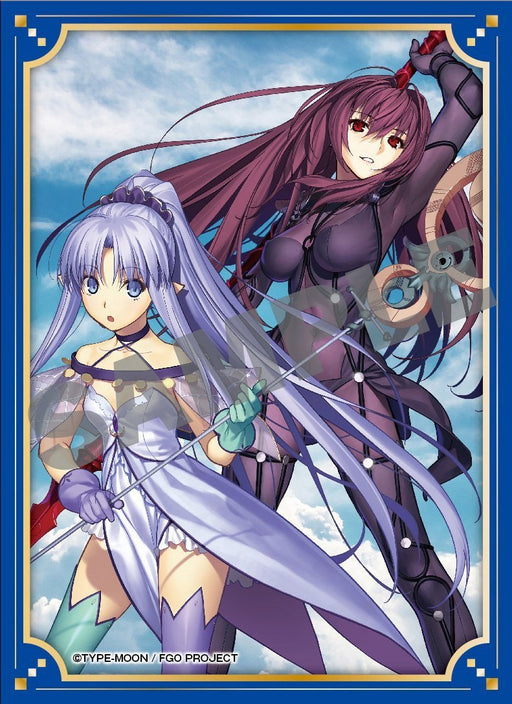 Fate/Grand Order Lancer Scathach Shishou & Medea Lily Caster Sleeves 80CT Vol.8 Comptiq Cover FGO