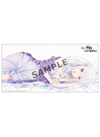 Re:Zero Starting Life - Emilia EMT - Rubber Play Mat