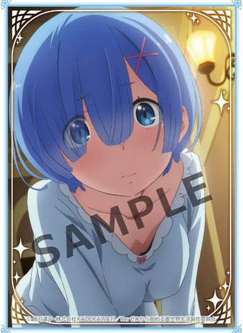 Re:Zero Starting Life - Rem - Sleeves Vol.18 KS-55 80CT