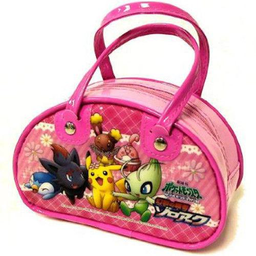 Pokemon BW Zorua Pikachu Celebi Mini Hand Bag Purse