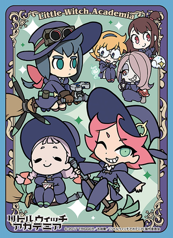 Little Witch Academia - Luna Nova Magical Academy B - Sleeves EN-447