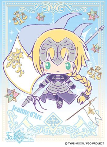 Fate Grand Order Sanrio - Ruler Jeanne d'Arc - Character Sleeves EN-548 FGO