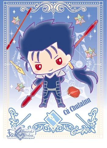 Fate Grand Order Sanrio - Cu Chulainn Lancer - Character Sleeves EN-532