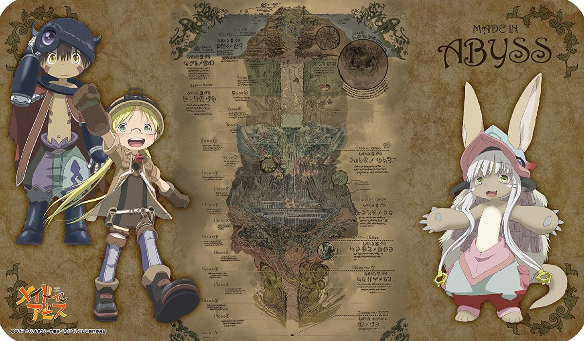 Made in Abyss - Regu Riko Nanachi - Character Rubber Play Mat ENR-025