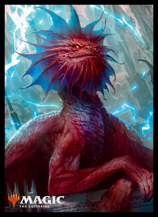 Magic The Gathering Guilds of Ravnica Niv-Mizzet Parun Sleeves MTGS-070 80CT