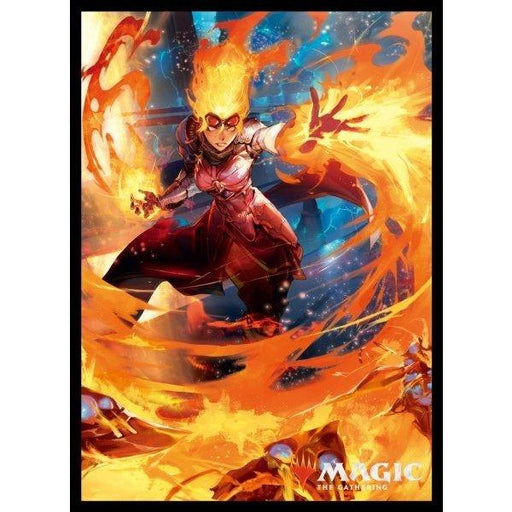 Magic The Gathering War of the Spark Chandra, Fire Artisan - Character Sleeves MTGS-101 80CT