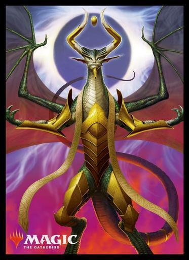 Magic The Gathering War of the Spark Nicol Bolas Dragon-God - Character Sleeves MTGS-098 80CT