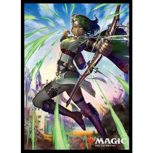Magic The Gathering War of the Spark Vivien, Champion of the Wilds - Character Sleeves MTGS-102 80CT