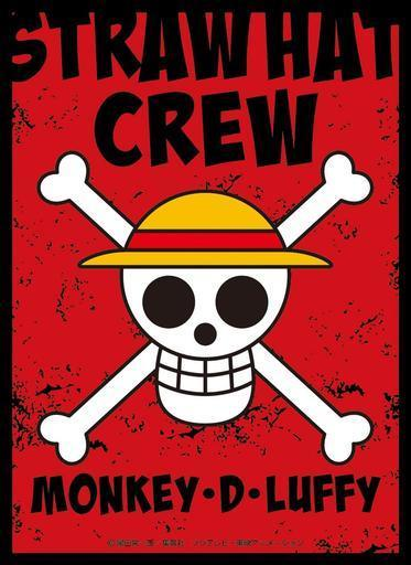 One Piece Jolly Roger Monkey D. Luffy - Character Sleeves EN-866