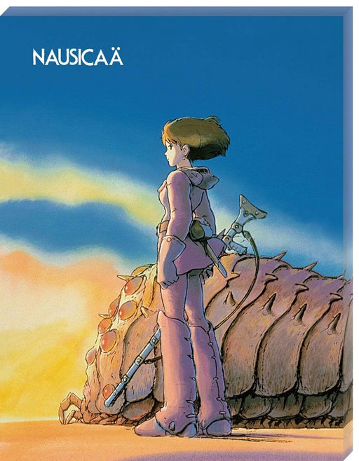 Nausicaa of the Valley of the Wind - Ohmu and Nausicaa - Ensky Artboard Canvas Style Jigsaw Puzzle ATB-15 Sep 2020