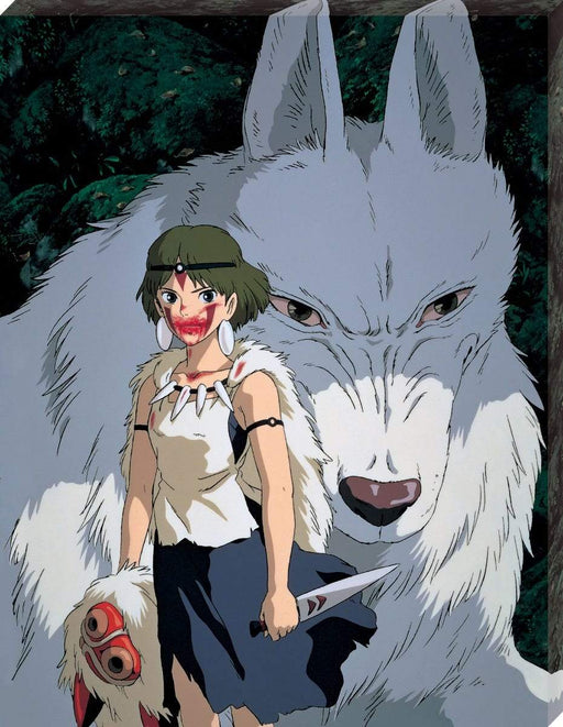 Princess Mononoke - Moro and San - Ensky Artboard Canvas Style Jigsaw Puzzle ATB-20 Sep 2020