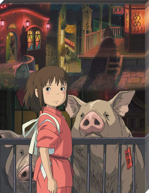 Spirited Away - The Other Side of the Tunnel - Ensky Artboard Canvas Style Jigsaw Puzzle ATB-21 Sep 2020