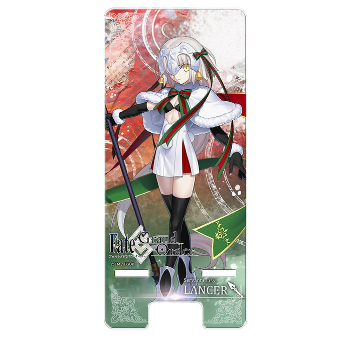 Fate/Grand Order Alter Jeanne d Arc Santa Lily Smart Mobile Phone Stand FGO