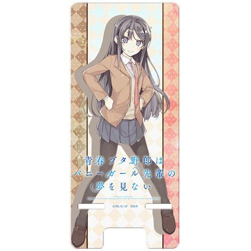 AoButa Rascal Does Not Dream of Bunny Girl Senpai - Mai School Uniform Ver. - Character Acrylic Smart Phone Stand