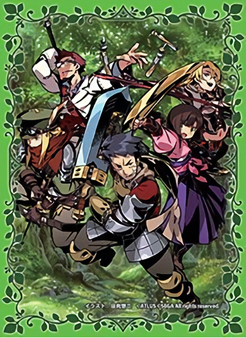 Etrian Odyssey Dominion Adventurers - Character Sleeves
