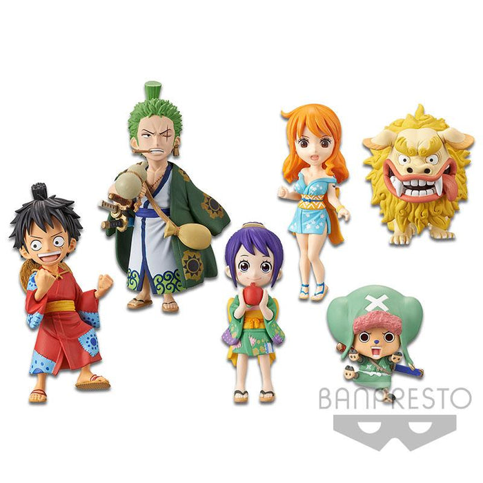 One Piece World Collectable Figure Wanokuni1 Character Figure WCF