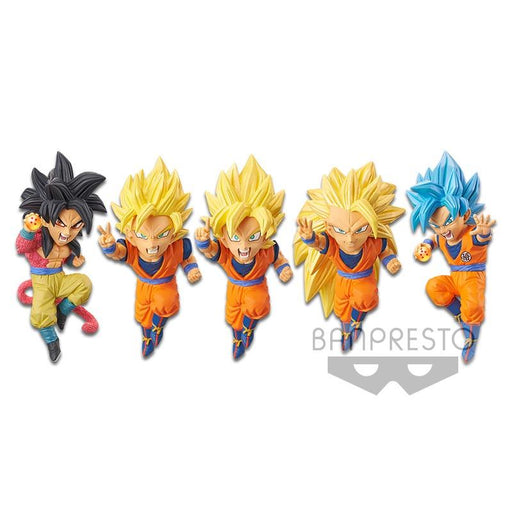 Dragon Ball Z Dokkan Battle 5 Character Figure WCF Banpresto April 2020
