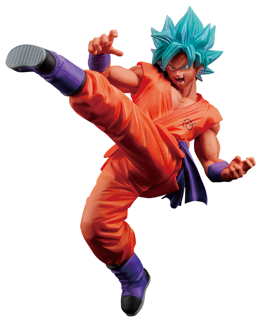 Dragon Ball Super - SSGSS Son Goku Fes - Banpresto Character Prize Figure Vol.5 Feb 2021