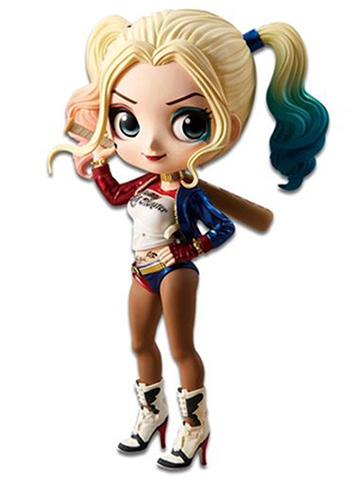 Suicide Squad Harley Quinn Normal Color Ver. Q Posket Figure